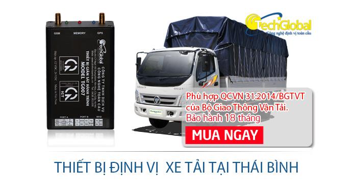 Lắp định vị xe tải tại Thái Bình