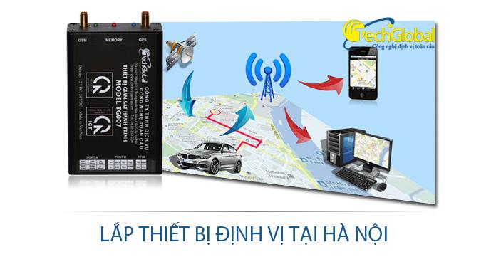Lắp thiết bị định vị tại Hà Nội cho ô tô xe máy