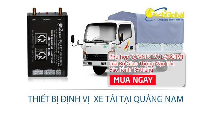 Lắp định vị xe tải tại Quảng Nam