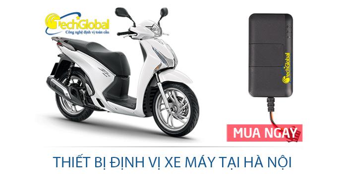Thiết bị định vị xe máy tại Hà Nội hợp quy GSM