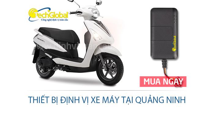 Thiết bị định vị xe máy tại Quảng Ninh