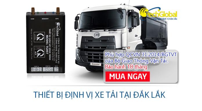 Lắp định vị xe tải tại Đắk Lắk