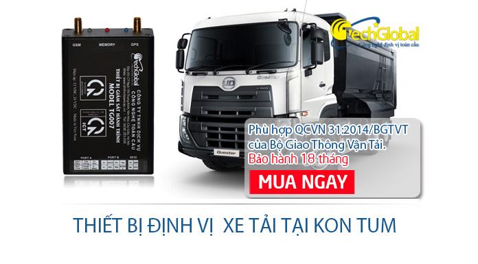 Lắp định vị xe tải tại Kon Tum