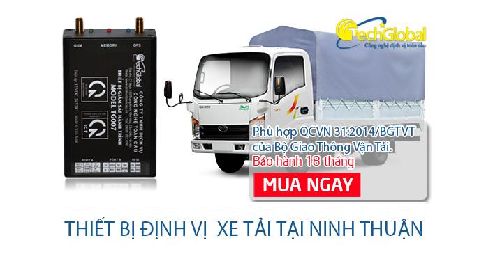 Lắp định vị xe tải tại Ninh Thuận