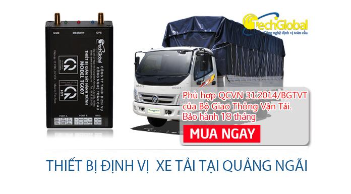 Lắp định vị xe tải tại Quảng Ngãi