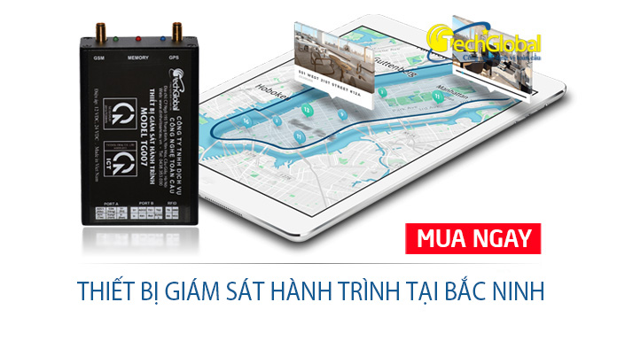 Thiết bị giám sát hành trình tại Bắc Ninh