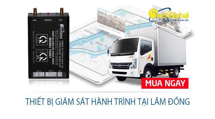 Thiết bị giám sát hành trình tại Lâm Đồng