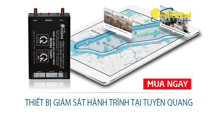 Thiết bị giám sát hành trình tại Tuyên Quang