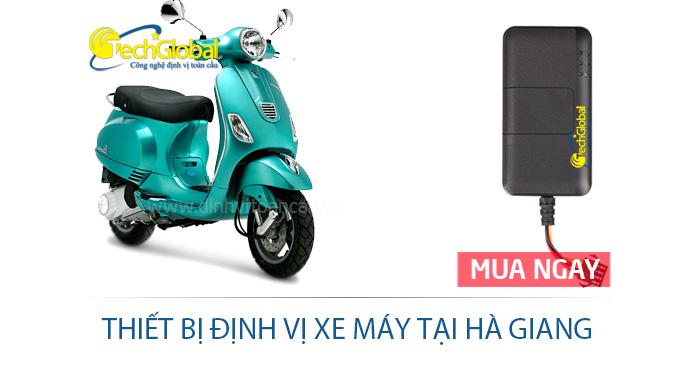 Thiết bị định vị xe máy tại Hà Giang hợp quy GSM