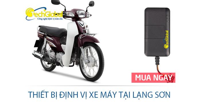 Thiết bị định vị xe máy tại Lạng Sơn hợp quy GSM
