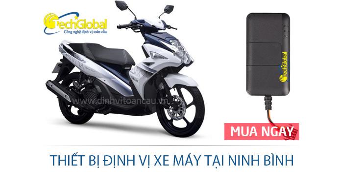 Thiết bị định vị xe máy tại Ninh Bình hợp quy GSM