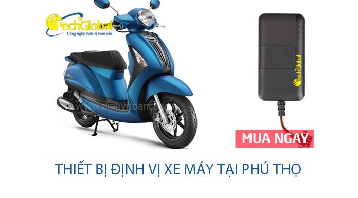 Thiết bị định vị xe máy tại Phú Thọ