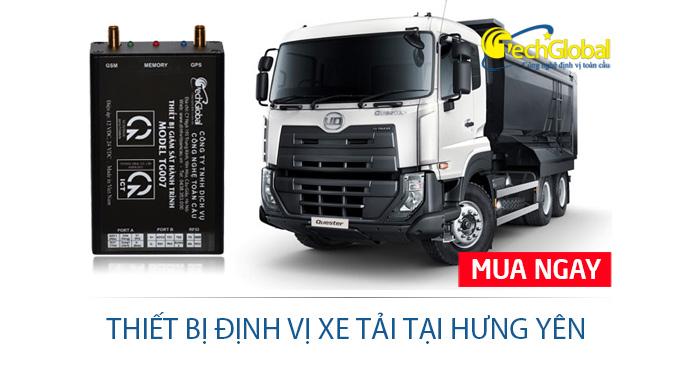 Lắp định vị xe tải tại Hưng Yên