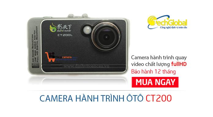 Camera hành trình ôtô CT200 giá rẻ