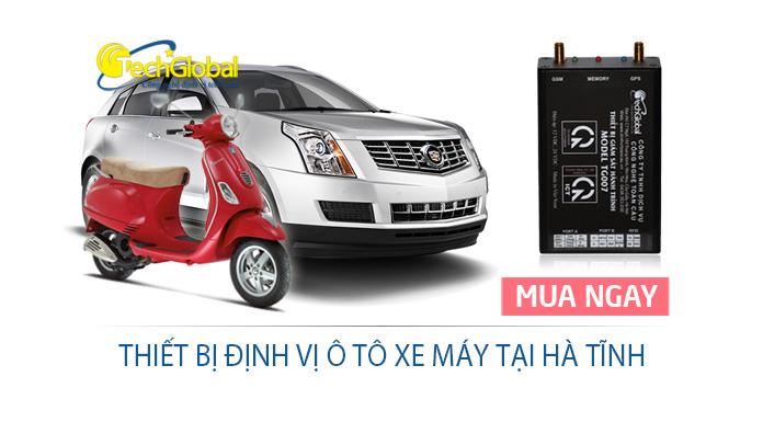 Thiết bị định vị tại Hà Tĩnh lắp cho xe ôtô xe máy giá rẻ