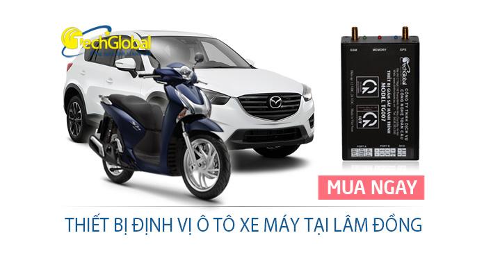 Thiết bị định vị tại Lâm Đồng lắp cho xe ôtô xe máy