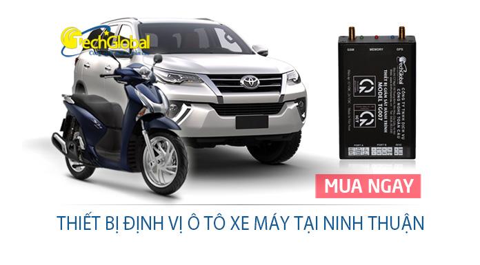 Thiết bị định vị tại Ninh Thuận gắn cho xe máy ôtô