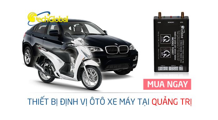 Thiết bị định vị tại Quảng Trị gắn cho xe máy ôtô