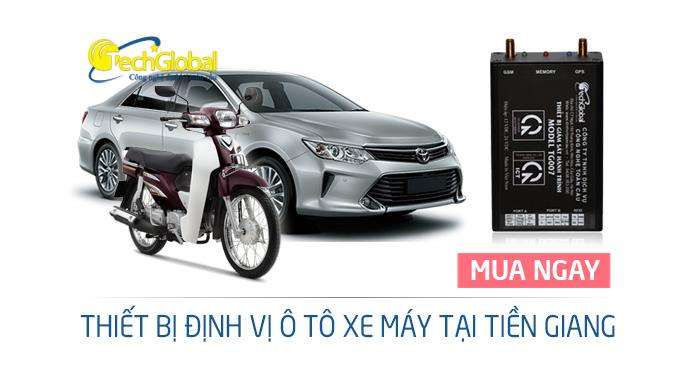 Thiết bị định vị tại Tiền Giang lắp cho xe ôtô xe máy giá rẻ chất lượng tốt