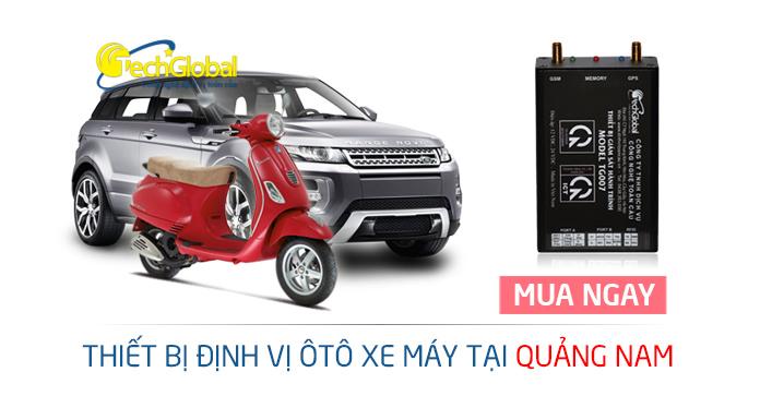 Thiết bị định vị tại Quảng Nam gắn cho xe máy ôtô