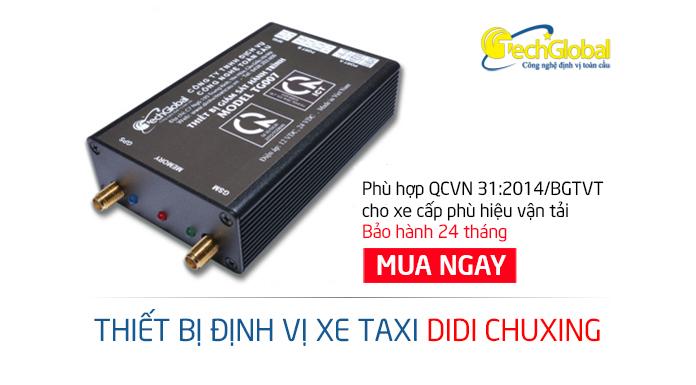 Lắp định vị xe taxi DiDi tại Đà Nẵng