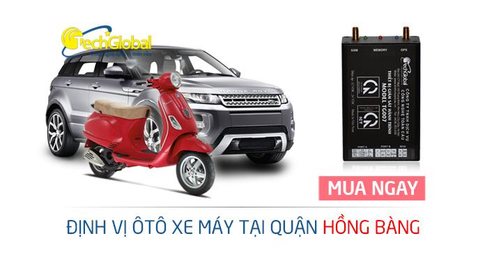 Lắp định vị GPS tại quận Hồng Bàng Hải Phòng