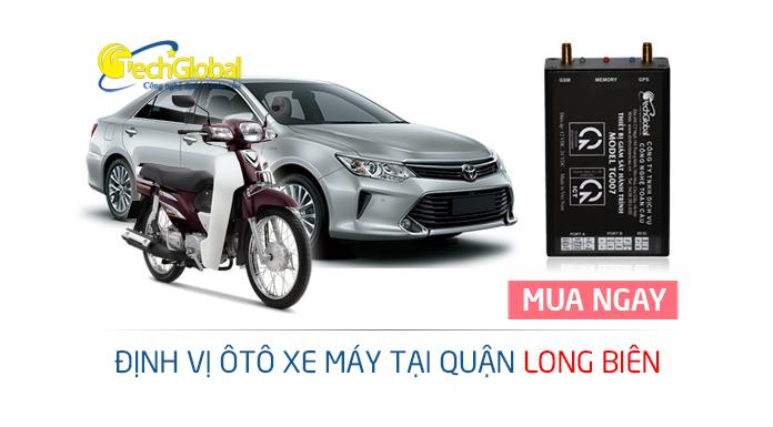 Lắp thiết bị định vị GPS tại quận Long Biên Hà Nội