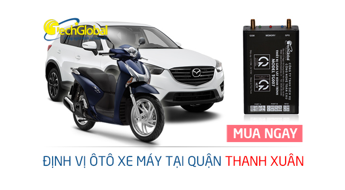 Lắp thiết bị định vị GPS tại quận Thanh Xuân Hà Nội