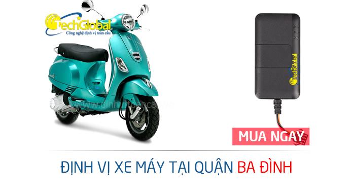 Lắp định vị xe máy tại Ba Đình Hà Nội