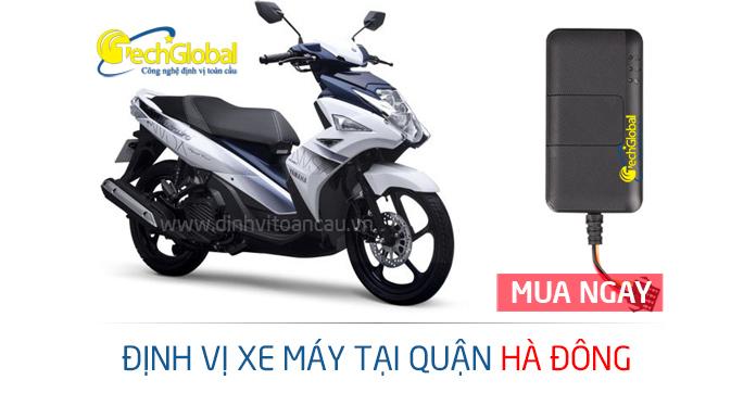 Lắp định vị xe máy tại Hà Đông Hà Nội