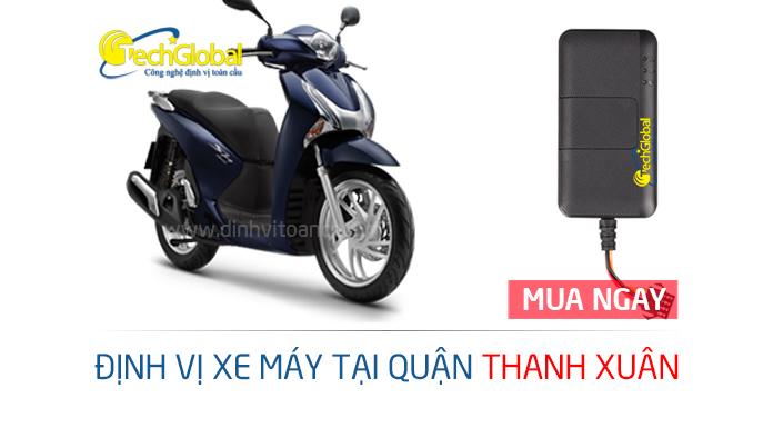 Lắp định vị xe máy tại Thanh Xuân Hà Nội