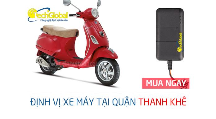 Gắn định vị xe máy tại quận Thanh Khê Đà Nẵng