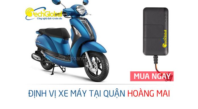 Lắp định vị xe máy tại Hoàng Mai Hà Nội