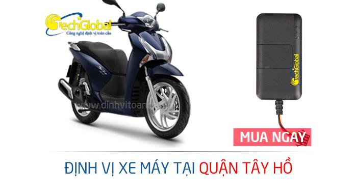 Lắp định vị xe máy tại Tây Hồ Hà Nội
