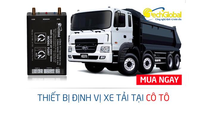 Lắp định vị xe tải tại Cô Tô Quảng Ninh