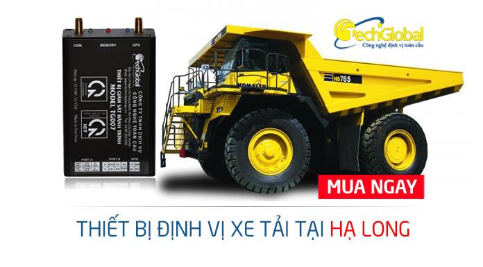 Lắp định vị xe tải tại Hạ Long Quảng Ninh