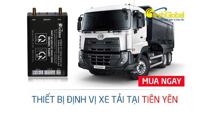 Lắp định vị xe tải tại Tiên Yên Quảng Ninh