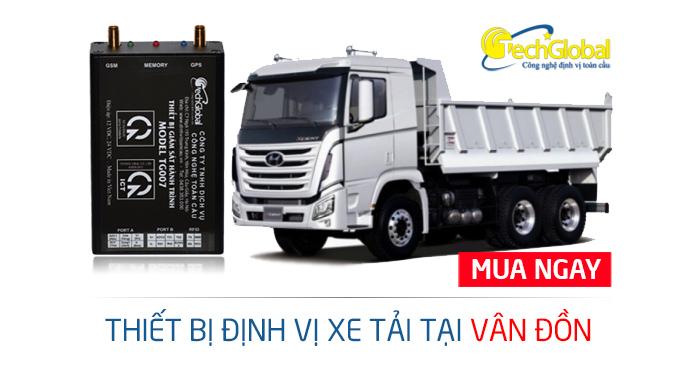 Lắp định vị xe tải tại Vân Đồn Quảng Ninh