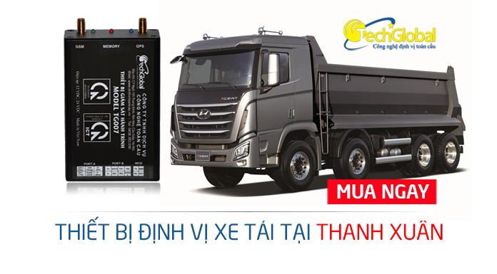 Lắp định vị xe tải tại Thanh Xuân Hà Nội