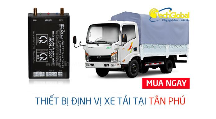 Gắn định vị xe tải tại quận Tân Phú TPHCM
