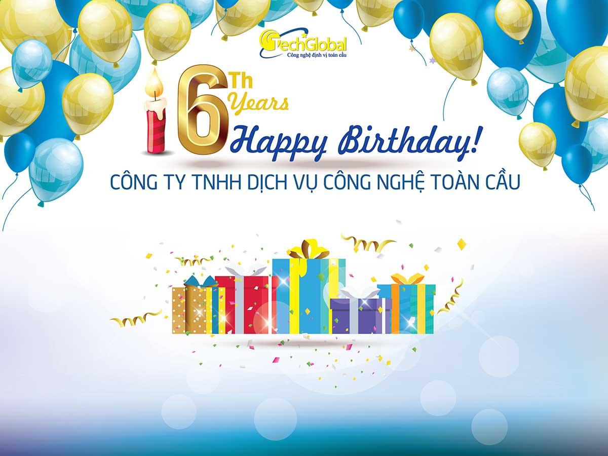 Khuyến mãi khủng mừng sinh nhật 6 năm thành lập công ty