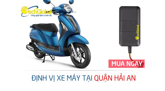 Lắp định vị xe máy tại quận Hải An Hải Phòng