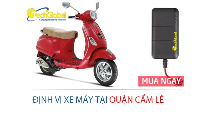 Gắn định vị xe máy tại quận Cẩm Lệ Đà Nẵng