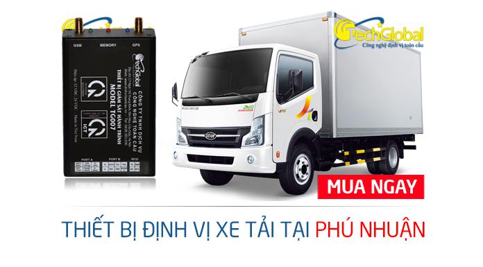 Gắn định vị xe tải tại quận Phú Nhuận TPHCM