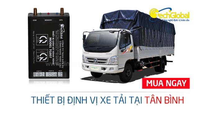Gắn định vị xe tải tại quận Tân Bình TPHCM