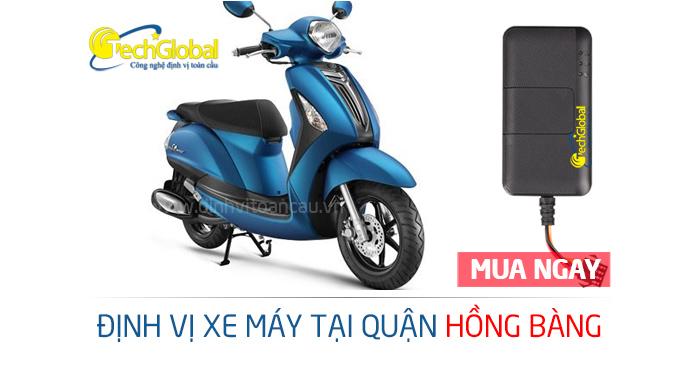 Lắp định vị xe máy tại quận Hồng Bàng Hải Phòng