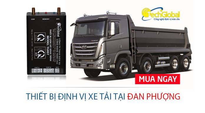 Lắp định vị xe tải tại Đan Phượng Hà Nội