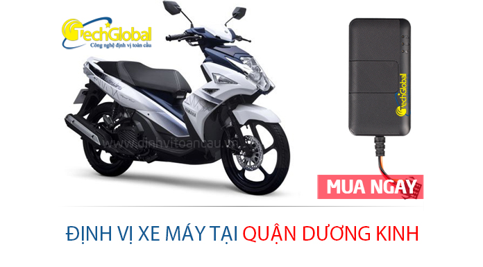Lắp định vị xe máy tại quận Dương Kinh Hải Phòng