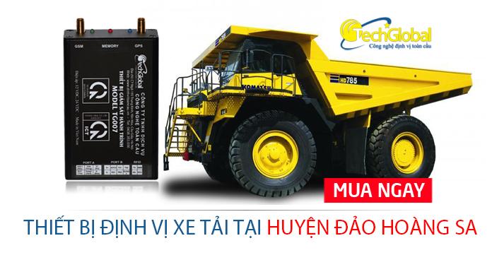 Lắp định vị xe tải tại huyện đảo Hoàng Sa Đà Nẵng