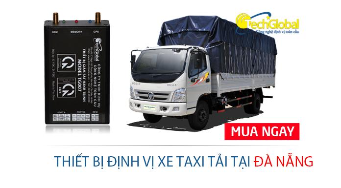 Lắp định vị xe taxi tải tại Đà Nẵng